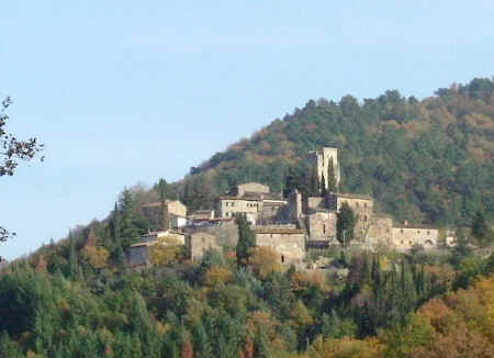 Gaiole in Chianti - Castello di Barbischio